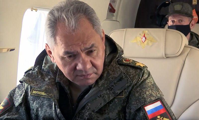 На учения в Крым прибыл министр обороны России Сергей Шойгу