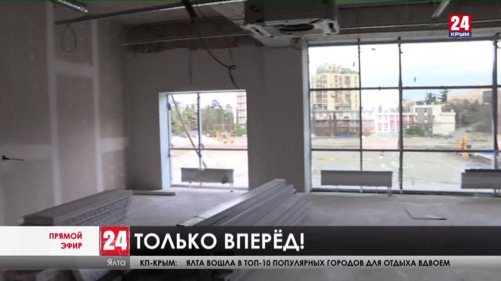 До завершения реконструкции стадиона «Авангард» осталось четыре месяца