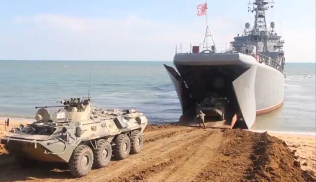 Из Крыма выводят войска после масштабных учений