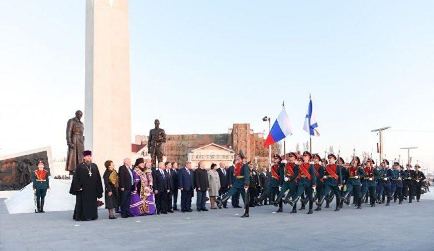 В Севастополе открыли памятник к 100-летию окончания Гражданской войны