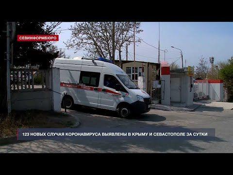 123 новых случая коронавируса выявлены в Крыму и Севастополе за сутки
