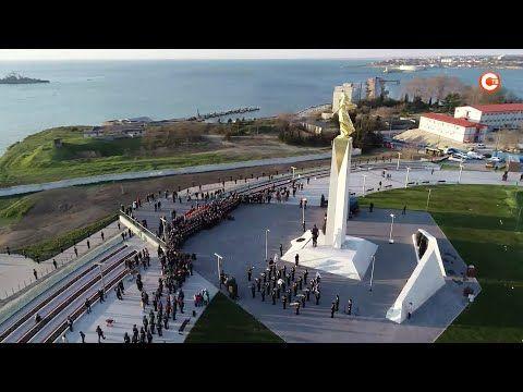 В Севастополе открыли памятник Примирения (СЮЖЕТ)
