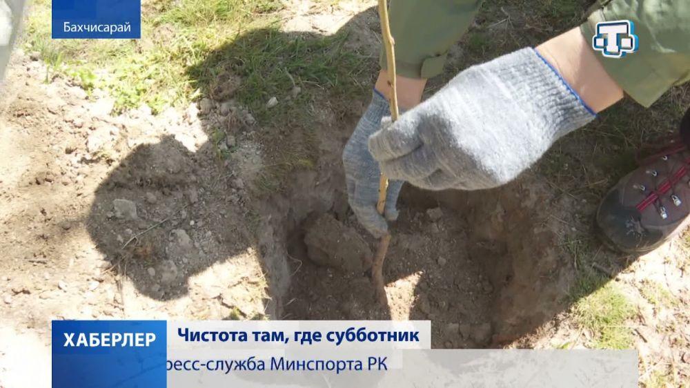 Крым присоединился к Всероссийскому субботнику