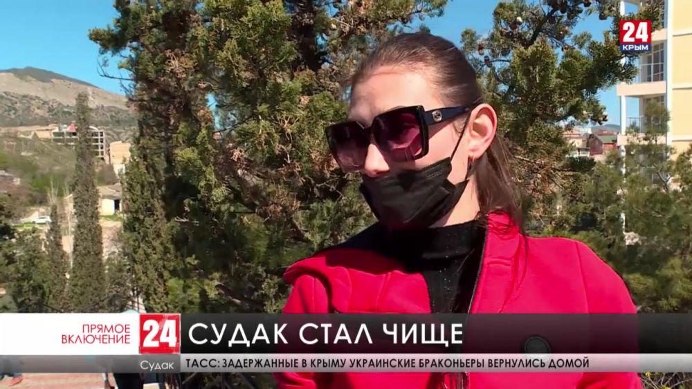 Акция «Всероссийский субботник-2021» в Судаке подходит к концу