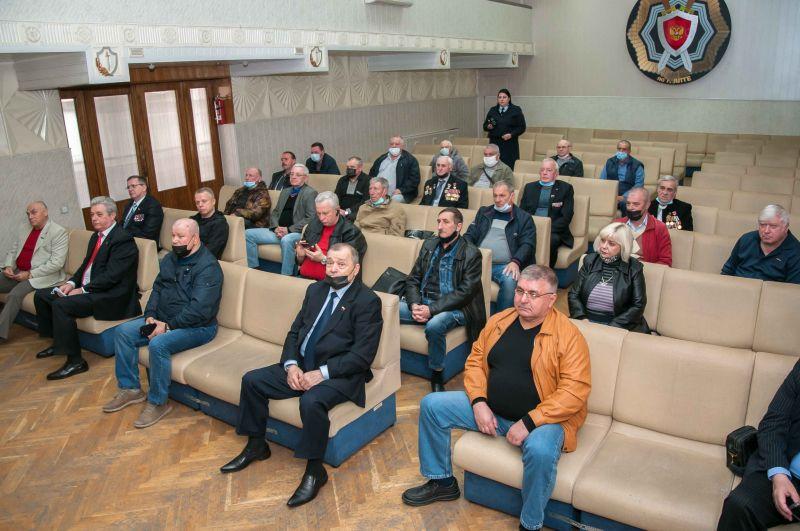 В Управлении МВД России по г. Ялта чествовали ветеранов внутренних дел и участников ликвидации аварии на Чернобыльской АЭС