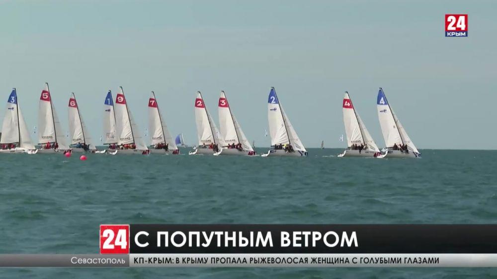 Больше ста яхтсменов боролись за призы Героя России Олега Белавенцева в Севастополе