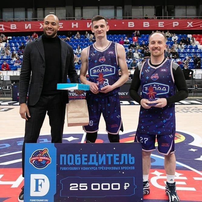 Крымчанин стал одним из лучших игроков Матча звезд АСБ