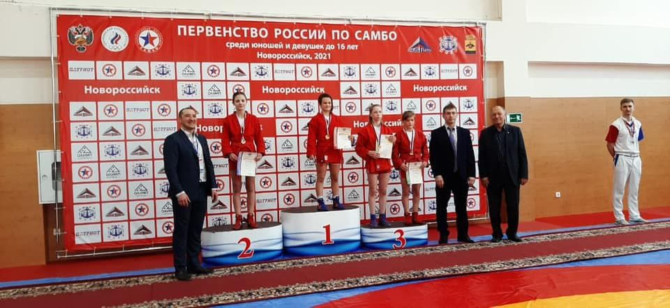 Крымская самбистка выиграла «серебро» первенства России