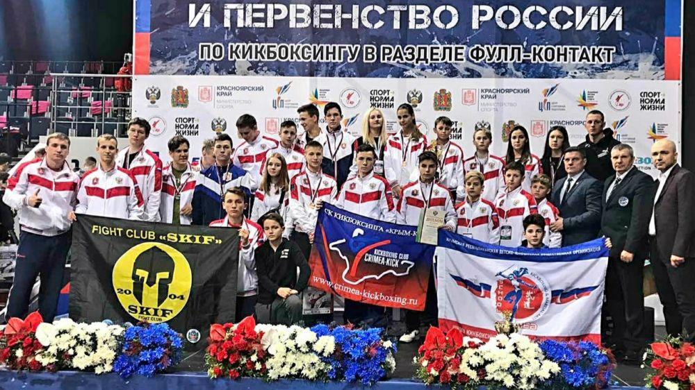 Крымские кикбоксеры завоевали 13 медалей на первенстве России