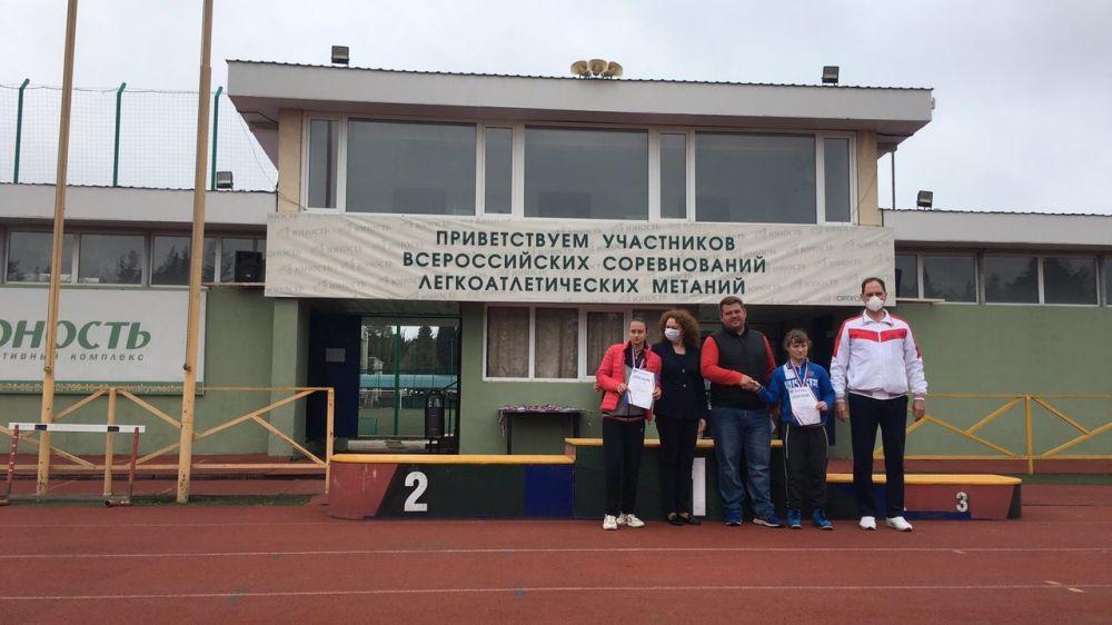 Крымские легкоатлеты выиграли два «серебра» на Всероссийских соревнованиях среди лиц с ПОДА