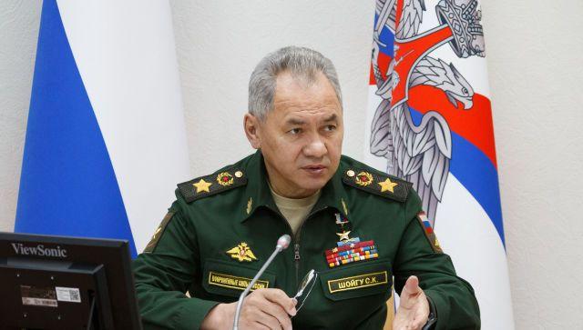 Шойгу объяснил учения в Крыму угрозой со стороны НАТО