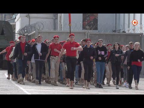 К параду Победы в Севастополе готовятся юнармейцы (СЮЖЕТ)