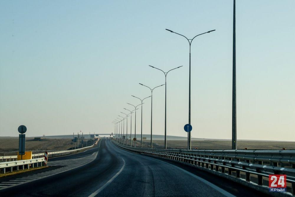 Восстановлено движение транспорта по «Тавриде» в сторону Феодосии