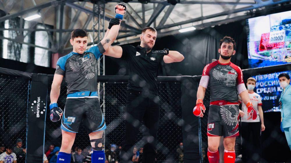 Крымский спортсмен стал победителем первенства России по смешанному боевому единоборству