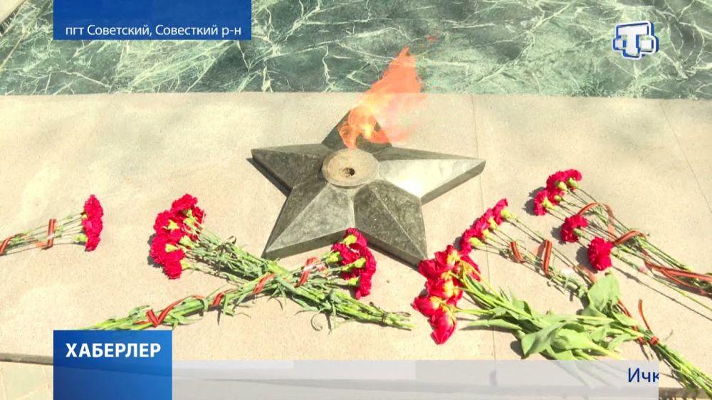 В Советском стартовала акция «Вахта памяти»