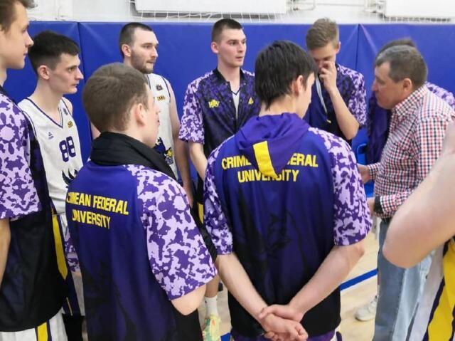 Крымские баскетболисты начали выступление в финале с победы