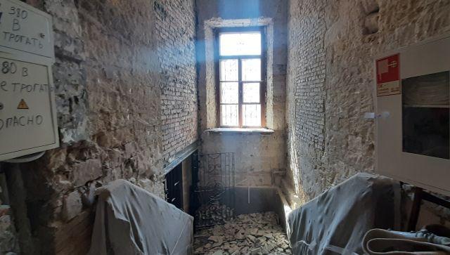 Ремонт галереи Айвазовского изнутри: эксклюзив РИА Новости Крым