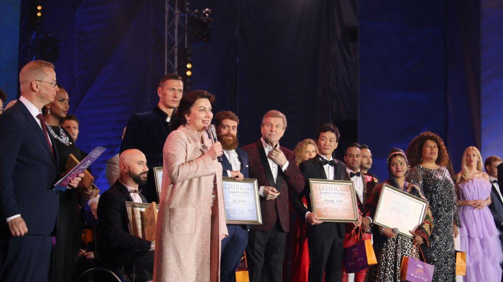 Арина Новосельская поприветствовала участников, организаторов и гостей Международного музыкального фестиваля «Дорога на Ялту»