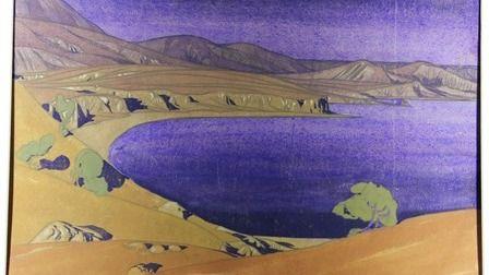 Начала работу выставка акварелей художественного наследия Максимилиана Волошина