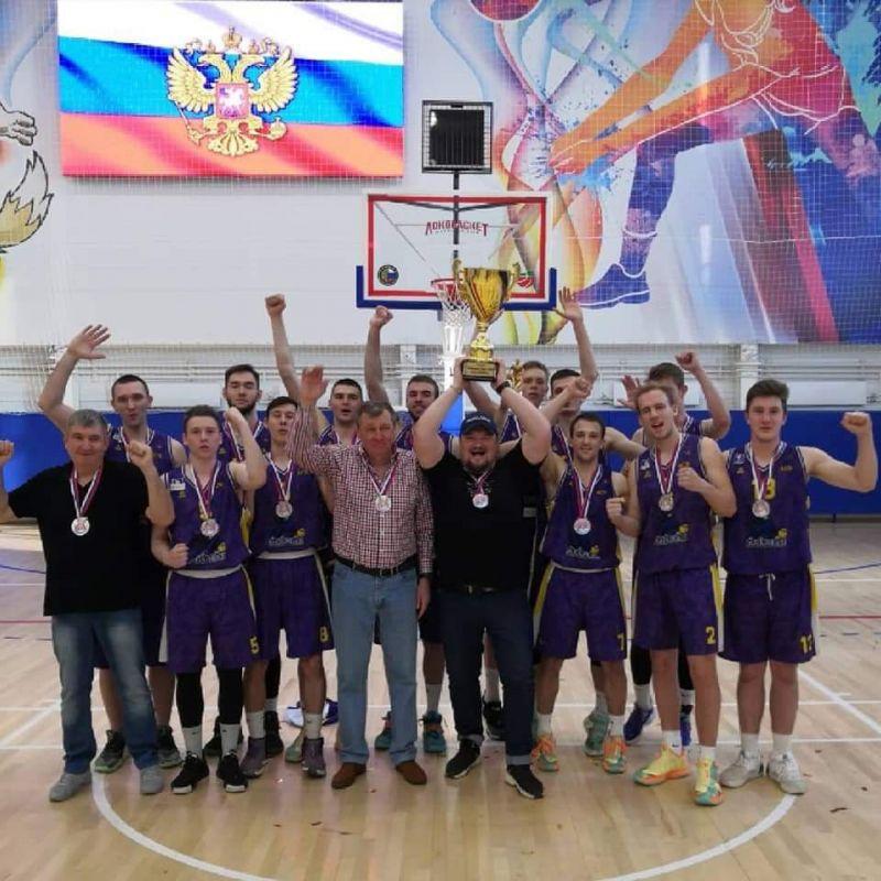 Крымские баскетболисты выиграли «серебро» всероссийских соревнований