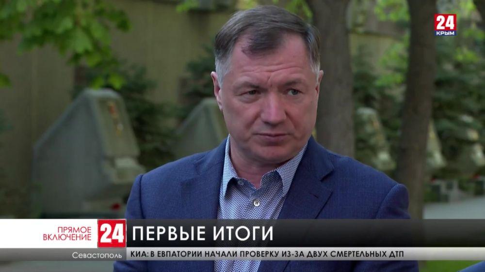 Вице-премьер российского Правительства Марат Хуснуллин с рабочим визитом в Севастополе