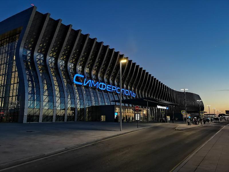 В аэропорту Симферополя обслужили первый в этом году миллион пассажиров