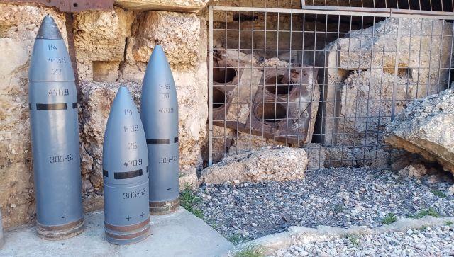 Новые артефакты 35-й батареи в Севастополе – фото