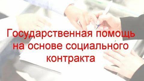Государственная социальная помощь для осуществления предпринимательской деятельности