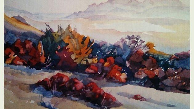 Представлена выставка работ самобытных крымских художников