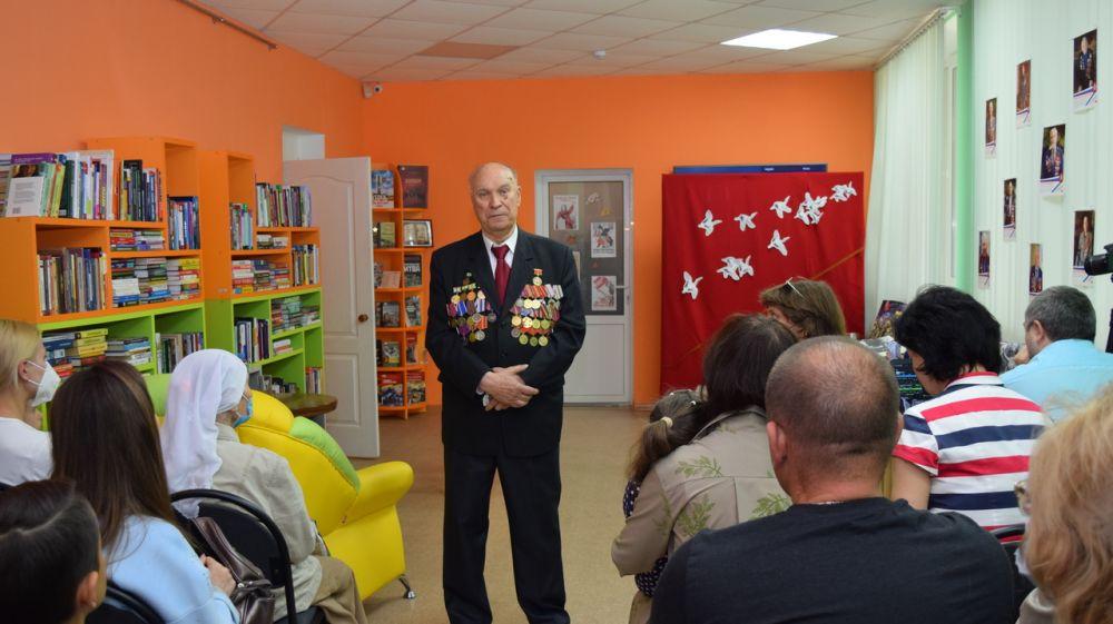 Крымская республиканская библиотека для молодежи организовала комплекс мероприятий «Мотивы военных лет»
