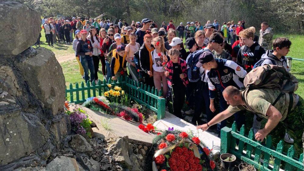 Подведены итоги патриотического мероприятия «Марш школьников по местам боевой славы» в Белогорском районе