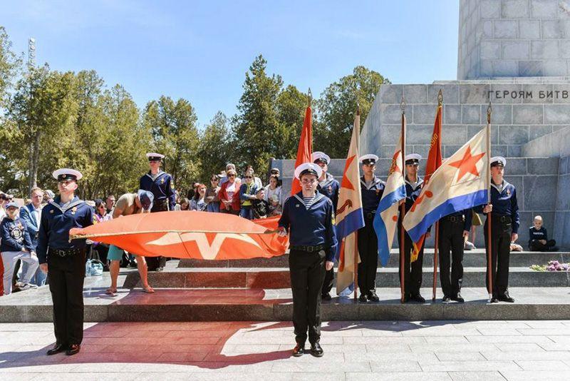 На Сапун-горе прошла традиционная акция «Знамена Славы»