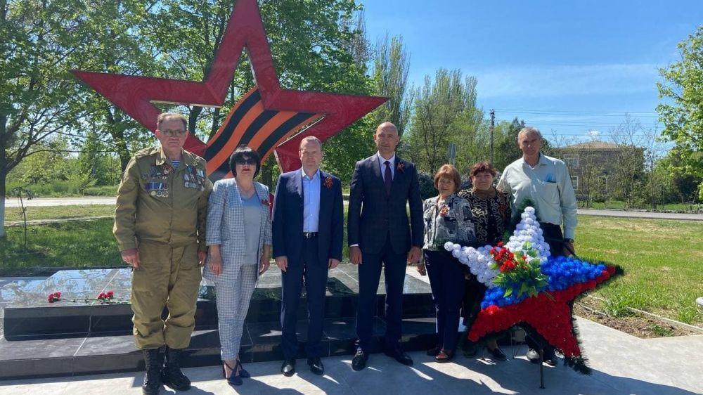 В Советском районе стартовала патриотическая акция «Память в граните»