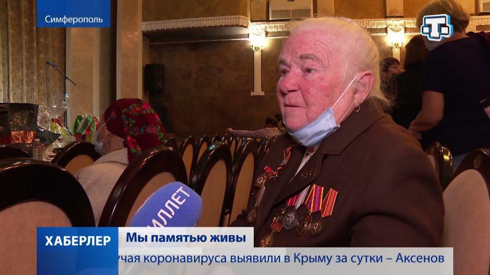 В Крымскотатарском театре поздравили ветеранов