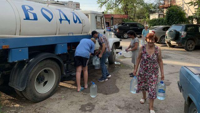 Авария на сетях в Симферополе: больше десятка улиц без воды