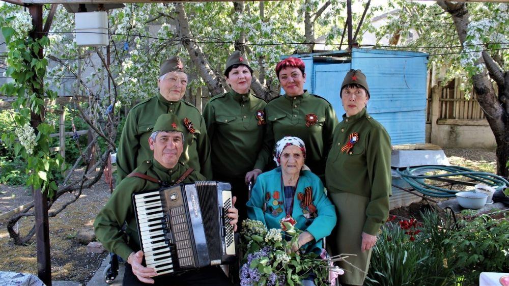 В Красноперекопском районе поздравили ветеранов Великой Отечественной войны
