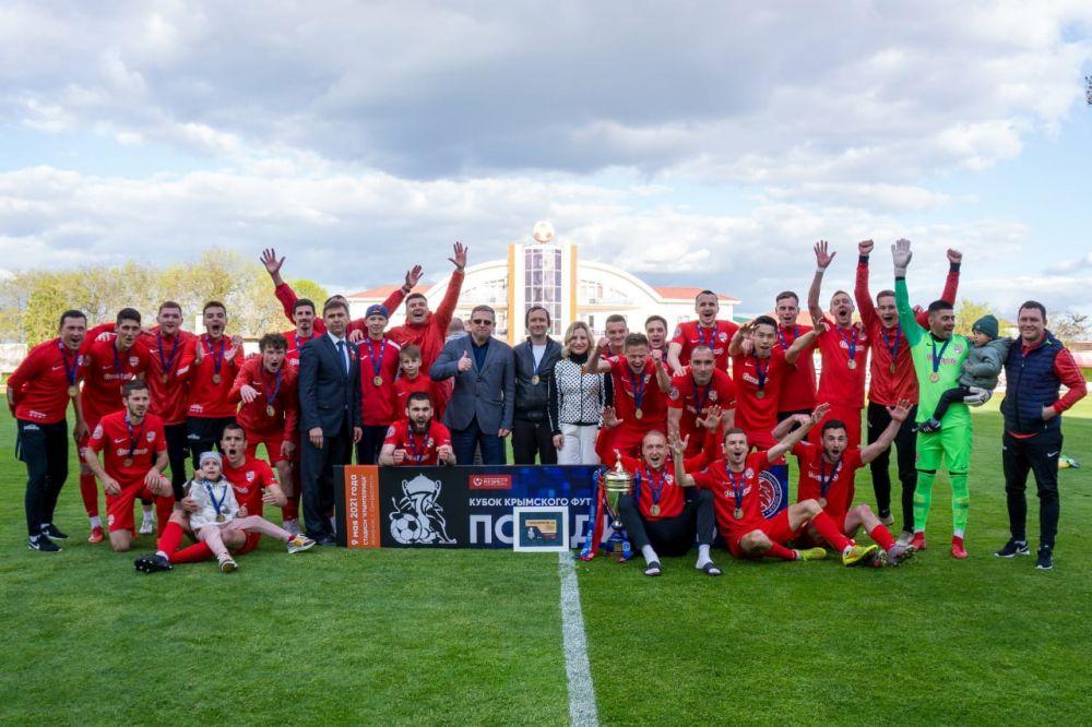 «Гвардеец» из Скворцово стал обладателем Кубка Крымского футбольного союза
