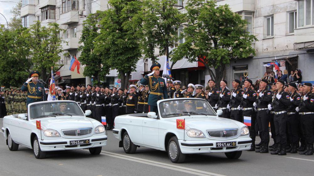 Министерство культуры Крыма оказало содействие в подготовке и проведении Парадов Победы в столице Крыма и городе-герое Керчи