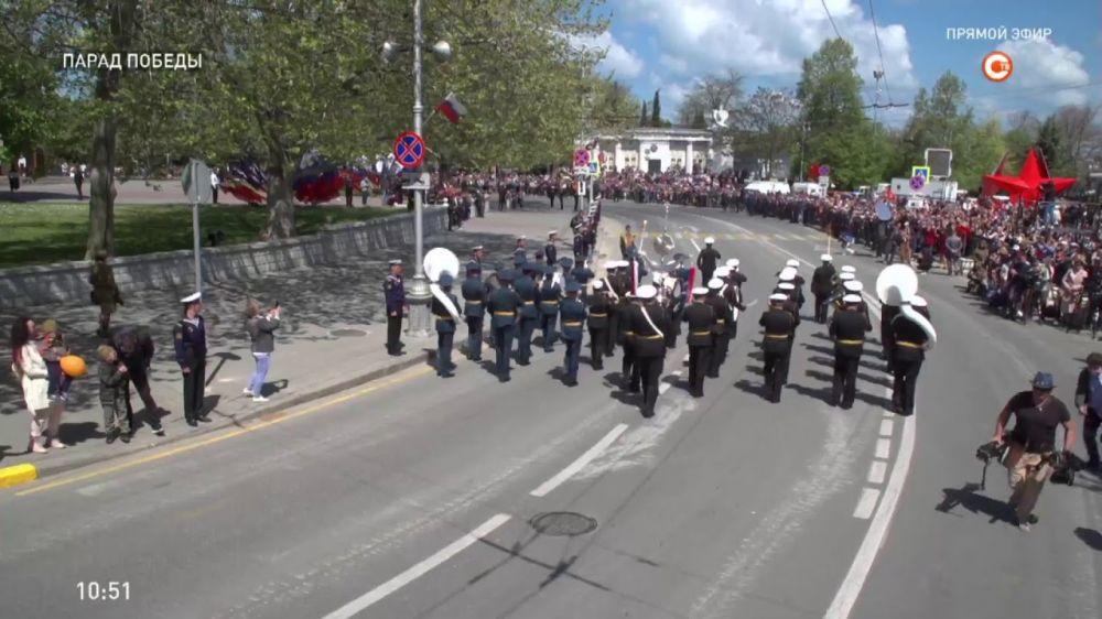 Видео Парада Победы в Севастополе 9 мая 2021 года (запись прямой трансляции)