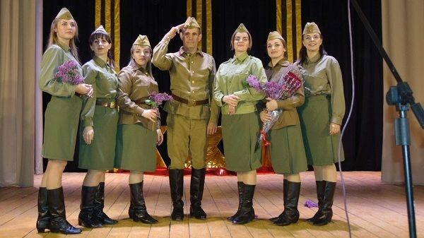 На сцене Завет – Ленинского Дома культуры состоялся дебют театрализованного концерта «А зори здесь тихие»