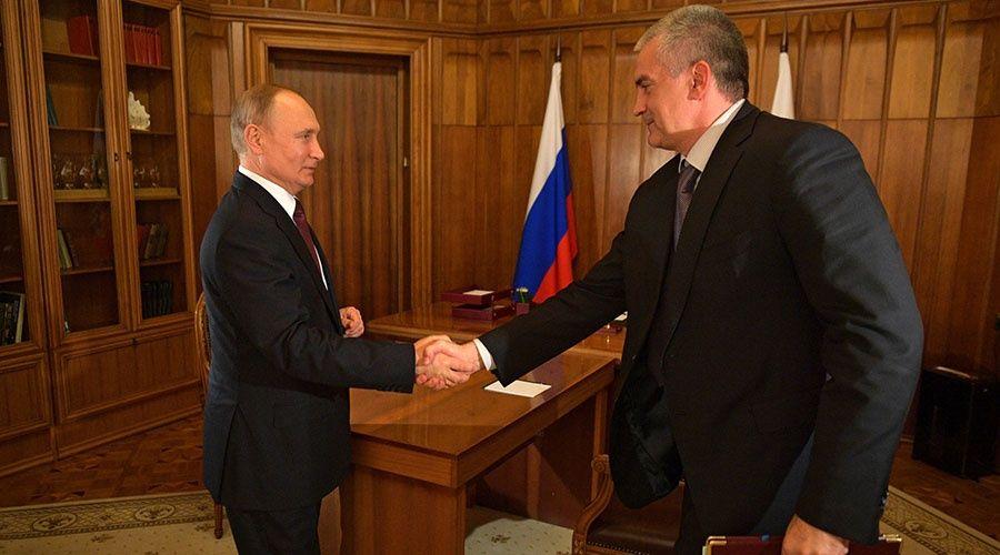 Глава Крыма награждён орденом Александра Невского за заслуги в развитии республики