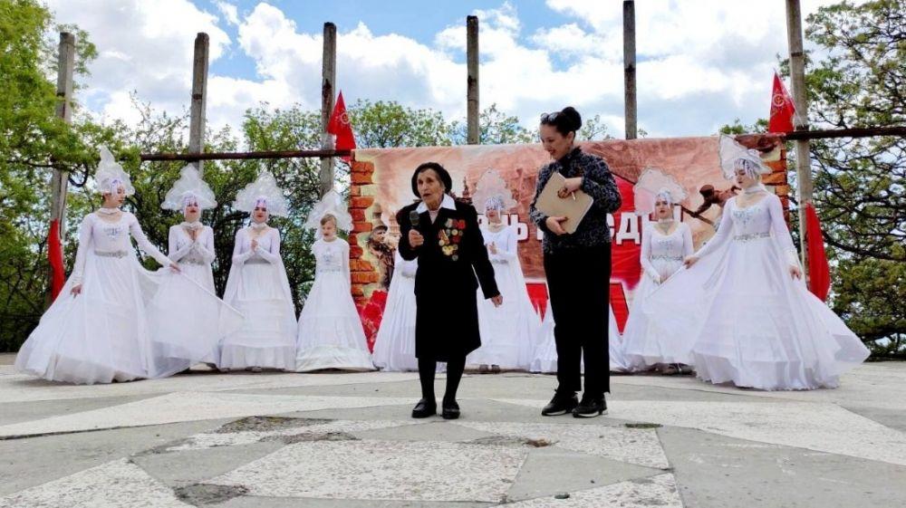 Алупка отпраздновала годовщину Победы в Великой Отечественной войне