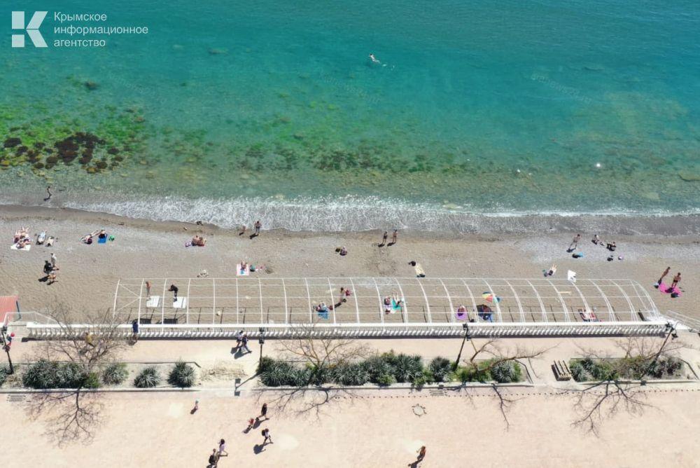 В Крыму этим летом будут работать свыше 400 пляжей
