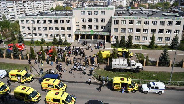 Стало известно о состоянии раненых при стрельбе в школе Казани