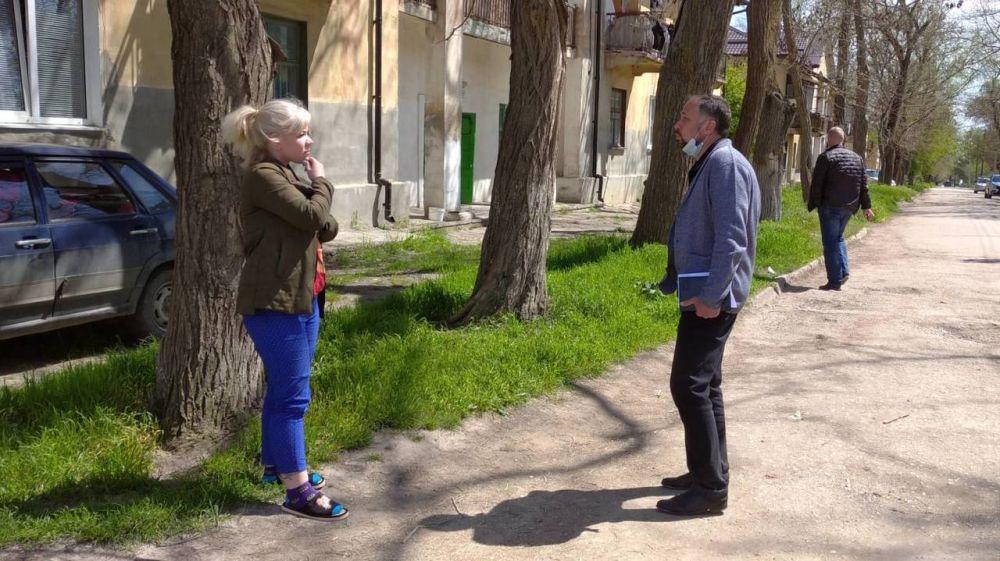 В Керчи проведены встречи с жителями района завода Войкова