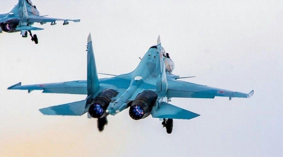 Минобороны выложило запись перехвата самолетов Франции над Черным морем