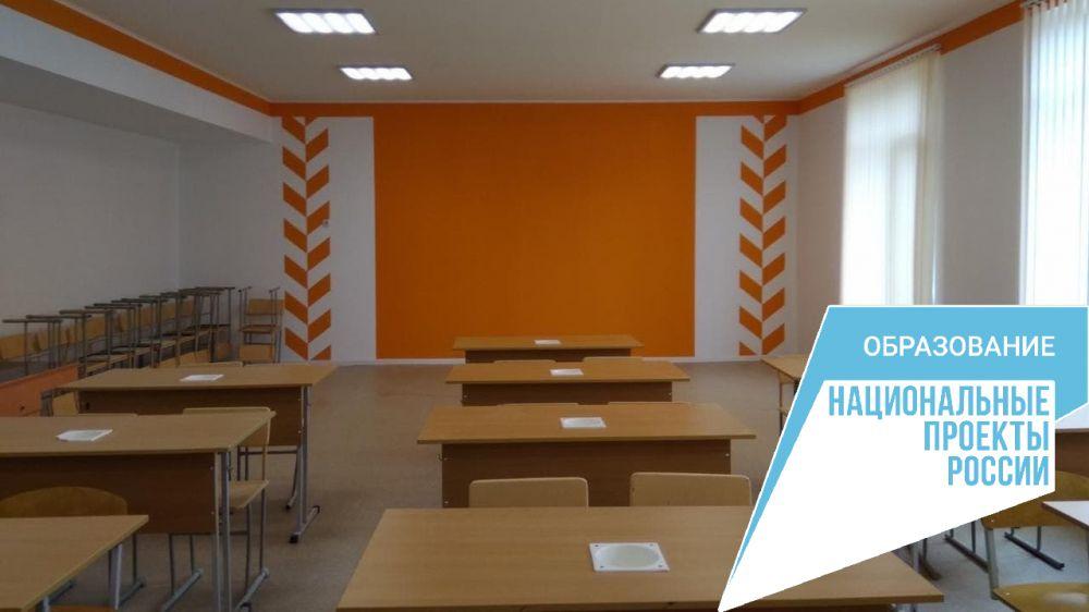 Завершен текущий ремонт в двух школах Бахчисарайского района