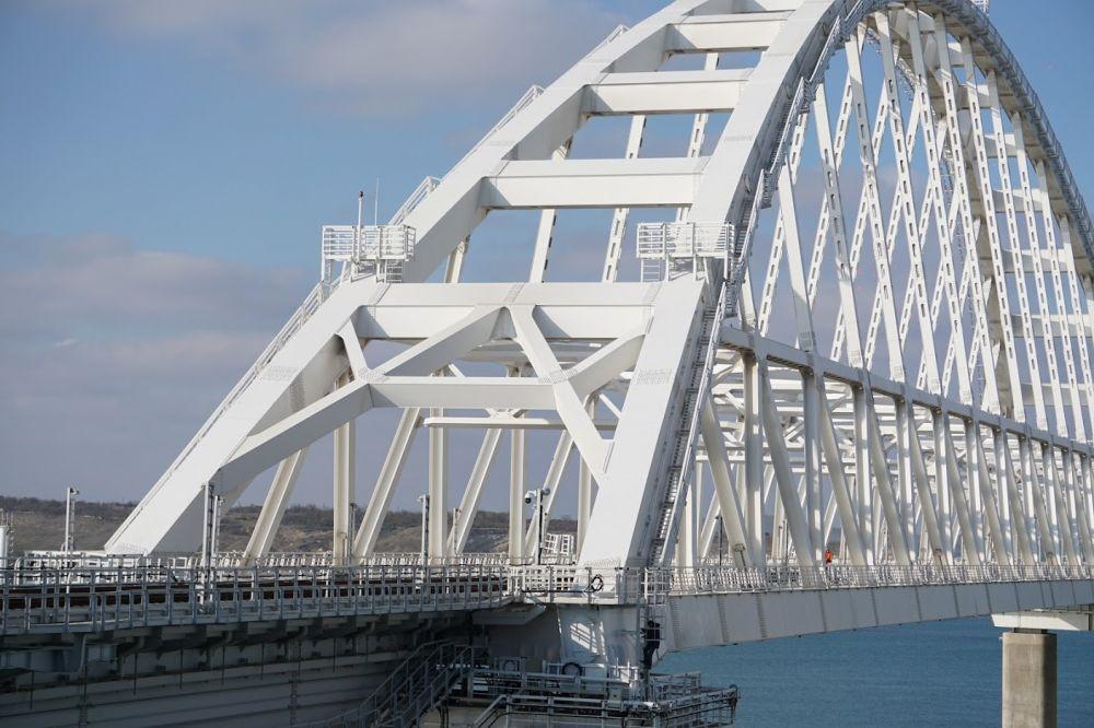 За майские праздники по Крымскому мосту проехали около 170 тысяч автомобилей