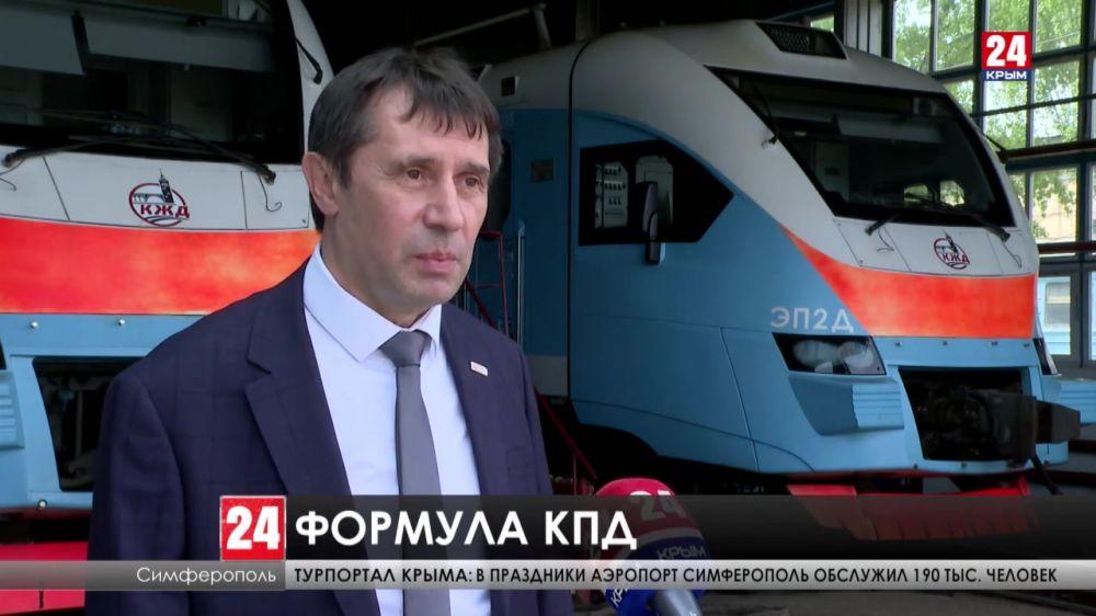 Как предприятие «Крымская железная дорога» будет реализовывать национальный проект «Производительность труда»?