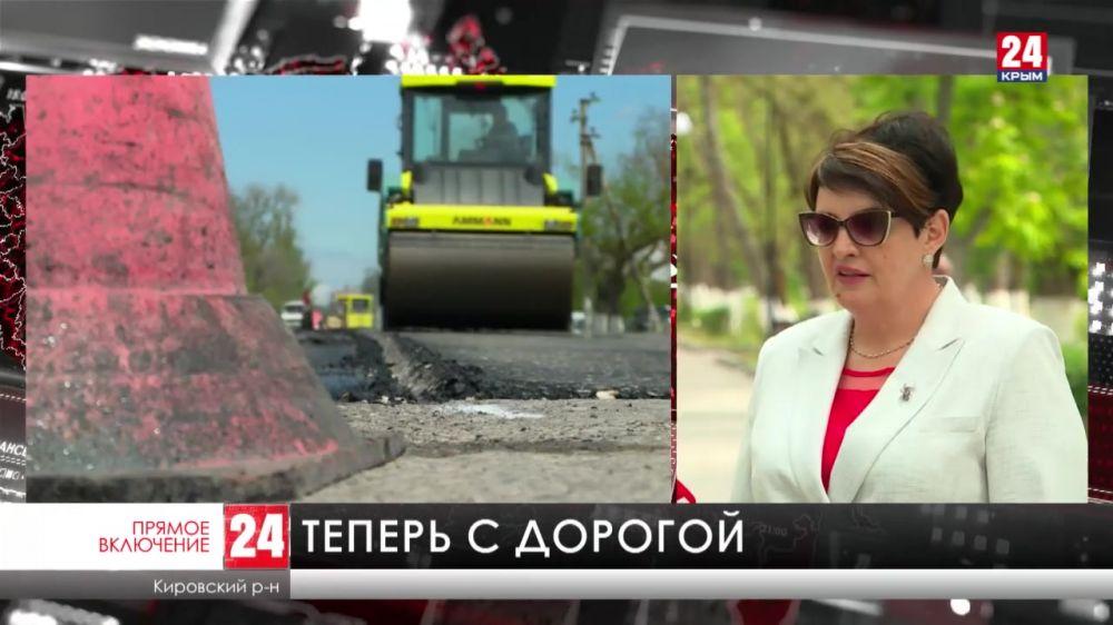 В Кировском начали ремонт дорог